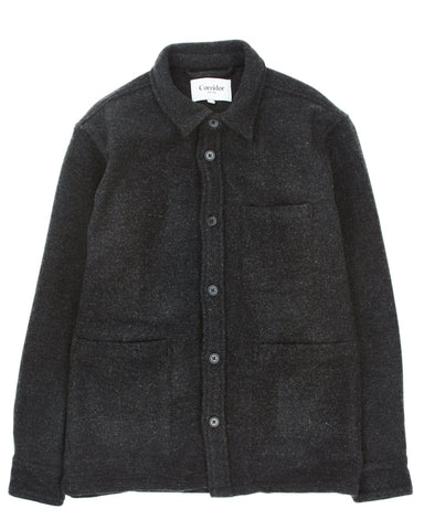 Lambswool (18oz) Jacket - Charcoal