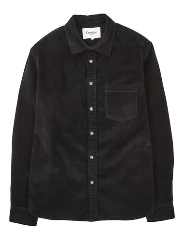 Black Snap 14 Wale Cord LS