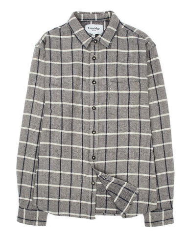 Blanket Herringbone Plaid LS