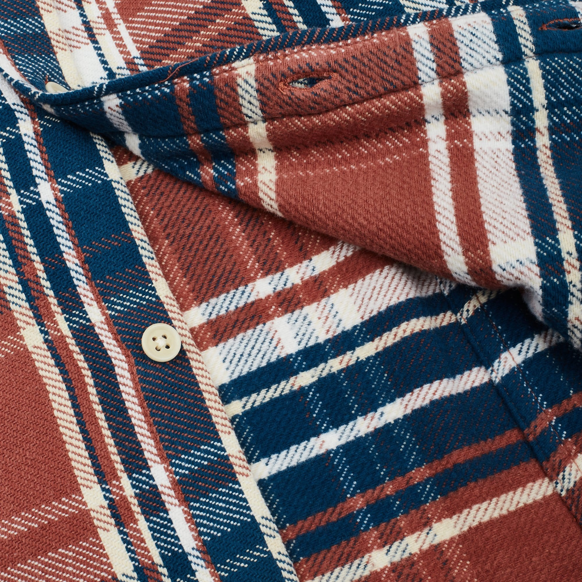 Blanket Plaid LS Winter Red