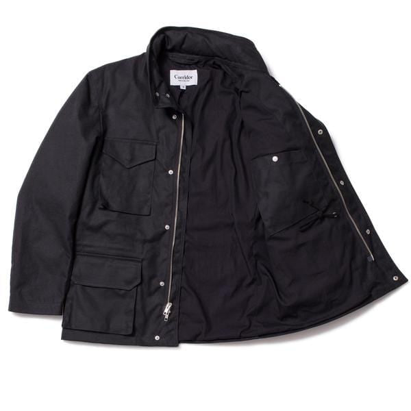 Waxed Cotton M65 - Black