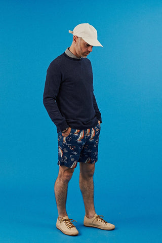 Heavy Linen Sailing Time Shorts