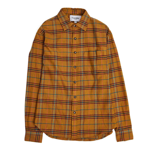 Mustard Autumn Plaid LS