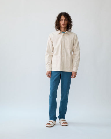 Natural Canvas Overshirt SS20