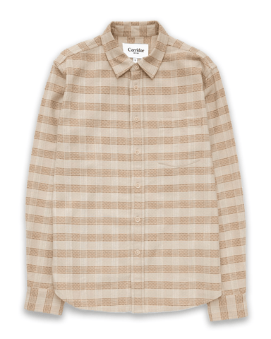Natural Jacquard LS