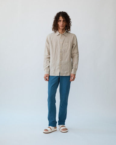 Natural Stripe LS