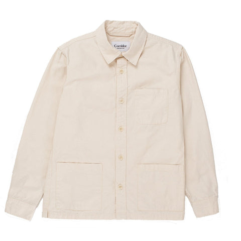 Natural Canvas Overshirt