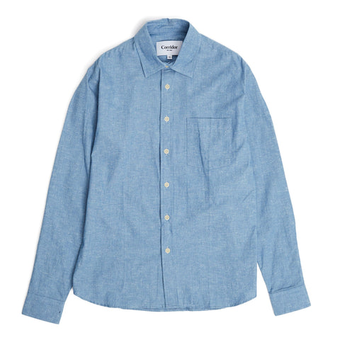 Neppy Chambray Blue LS