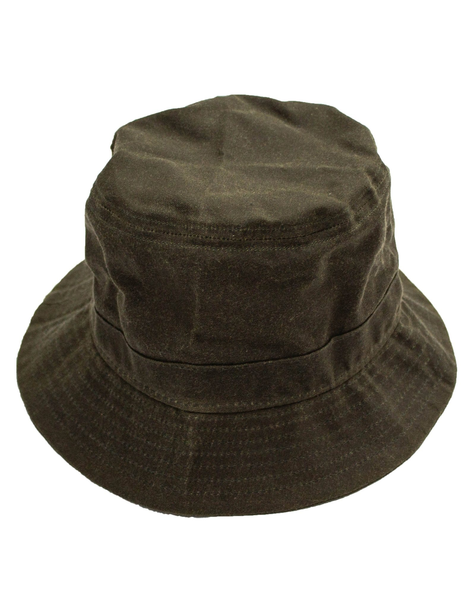 Olive Waxed Bucket Hat