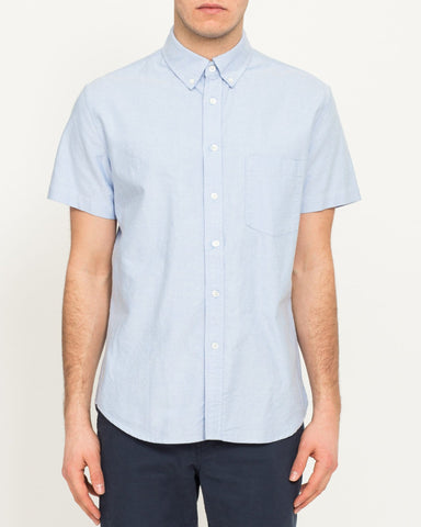 Classic Oxford- Blue Short Sleeve