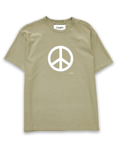 Peace Sign Olive T-Shirt