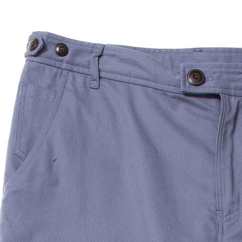 Brushed Twill Chino - Sanded Cool Blue