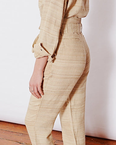 Natural Silk Pants