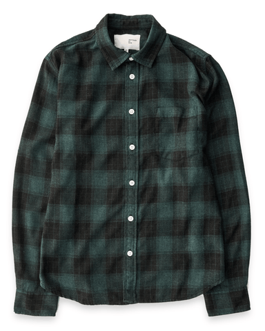 Recycled Hunter Plaid