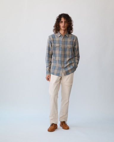 Summer Acid Plaid Western