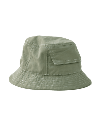 Sage Canvas Pocket Bucket