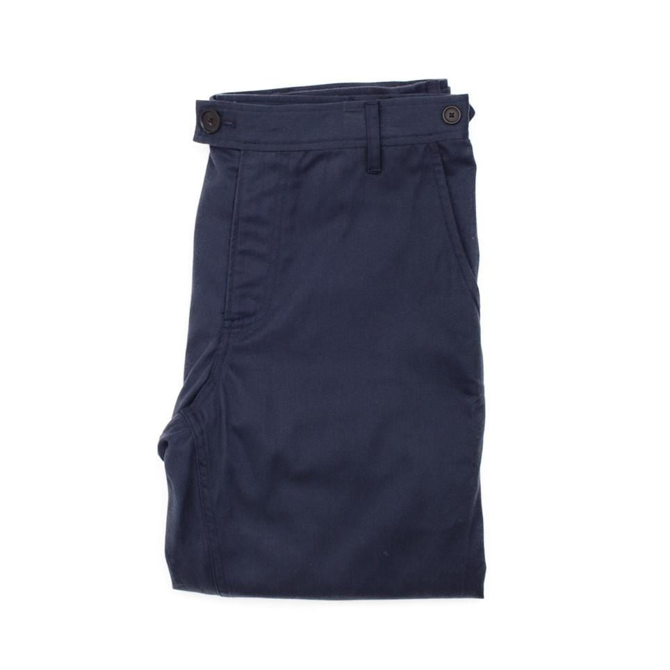 Sanded Navy Chino