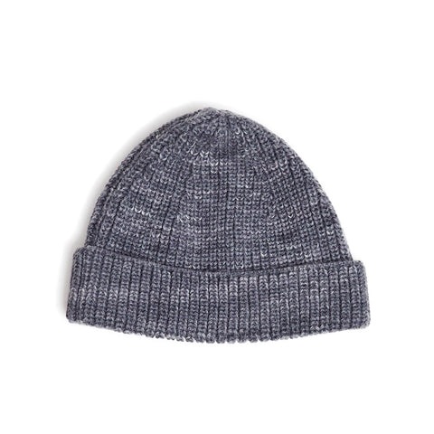 Alpaca Space Dye Beanie - Grey