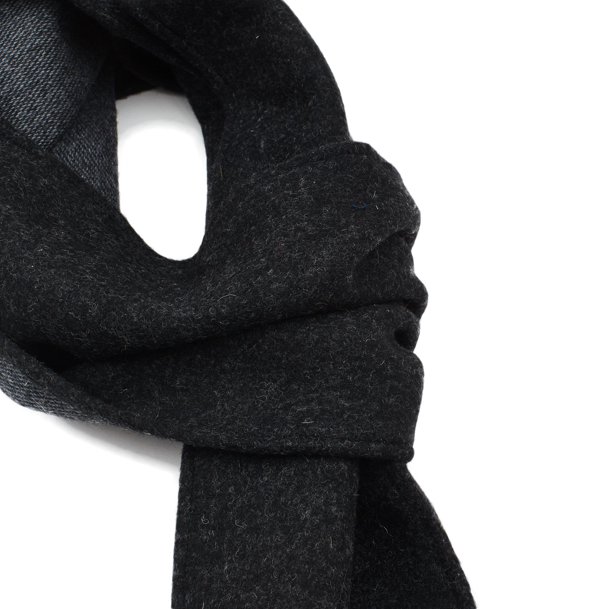 Lambswool Scarf - Charcoal