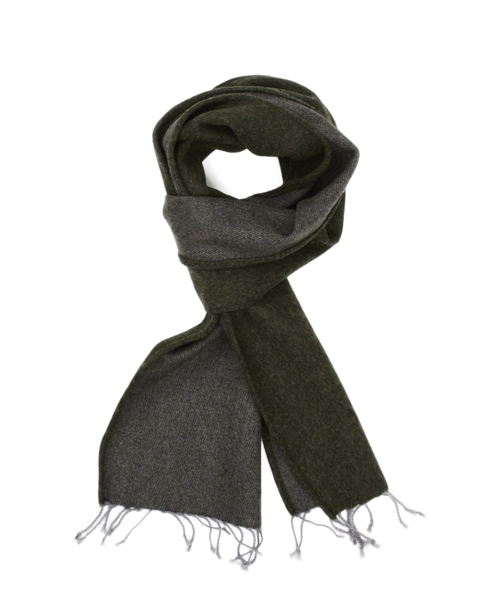 Lambswool Scarf - Loden