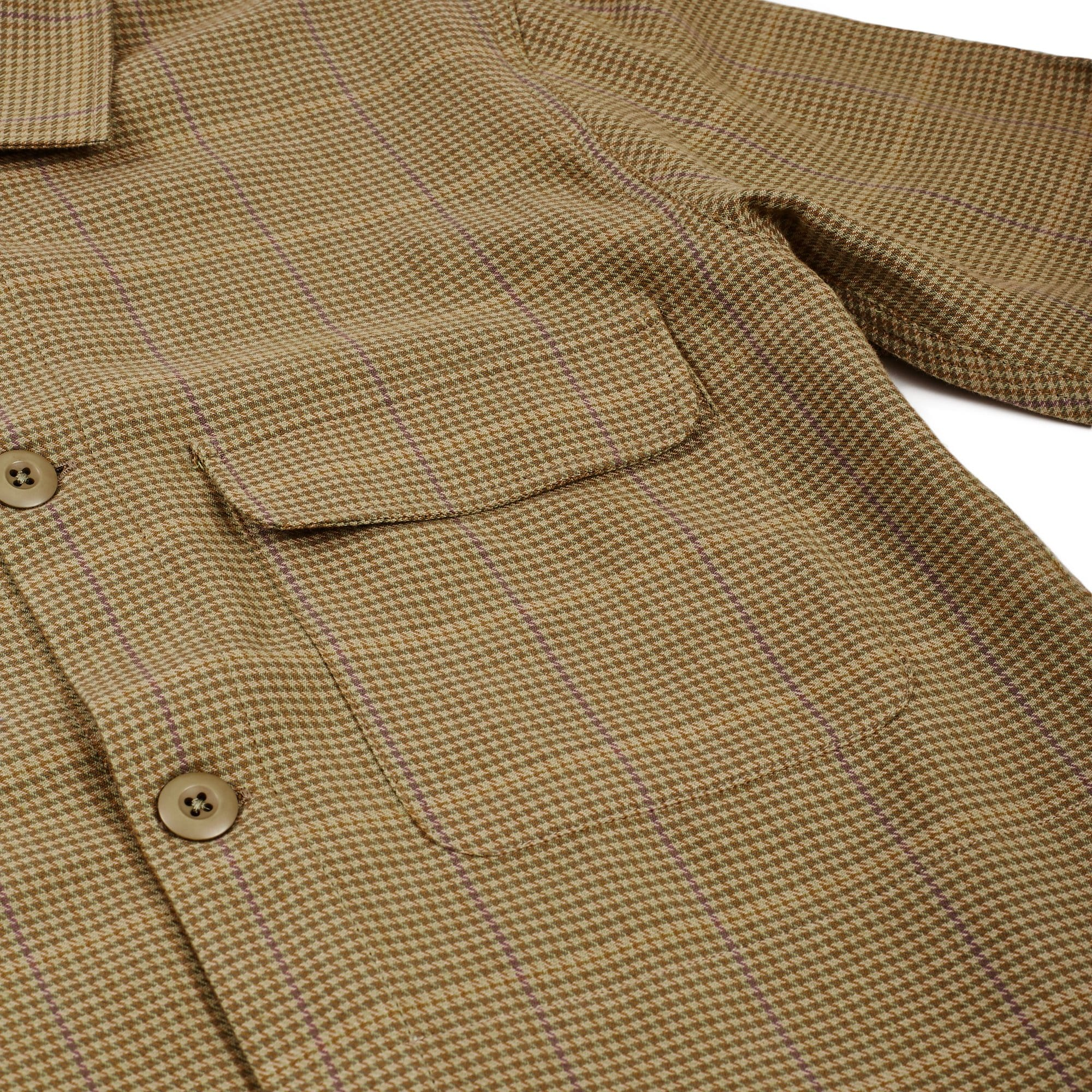 Houndstooth Check Service Jacket