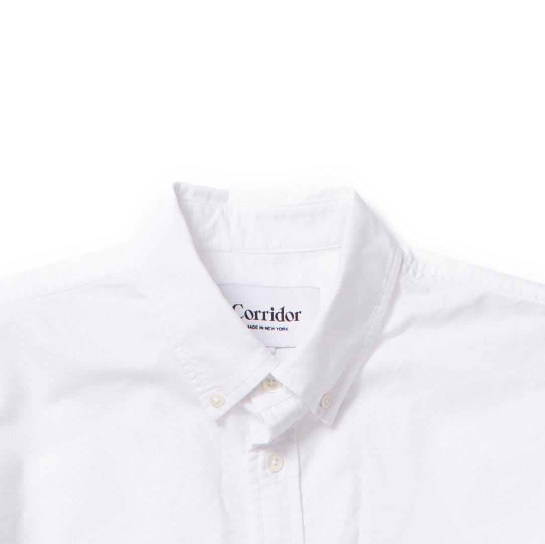 Classic Oxford- White Short Sleeve