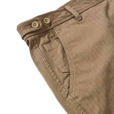 Herringbone Shorts - Khaki