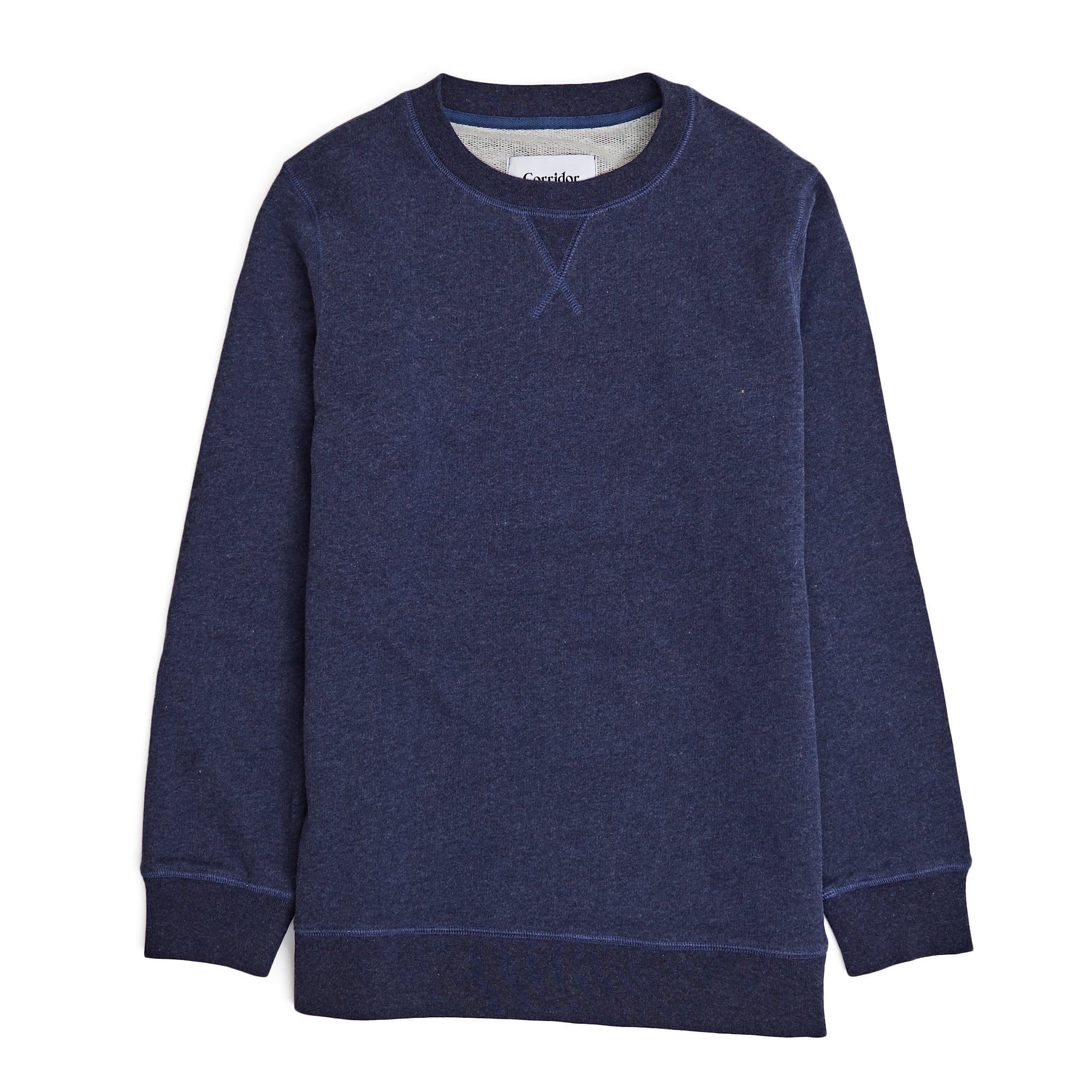 Navy Melange Loopback Sweatshirt (older)
