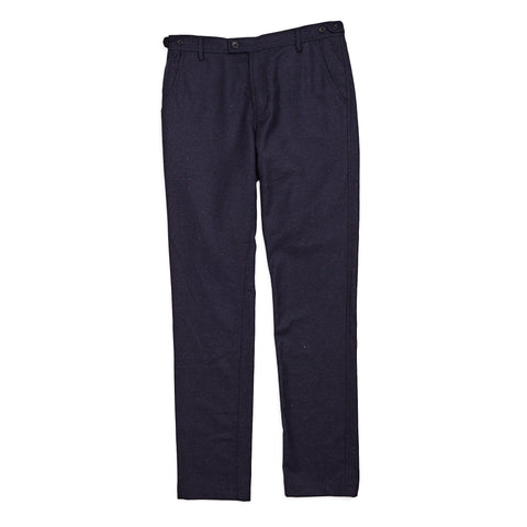 Navy Wool Spec Trouser