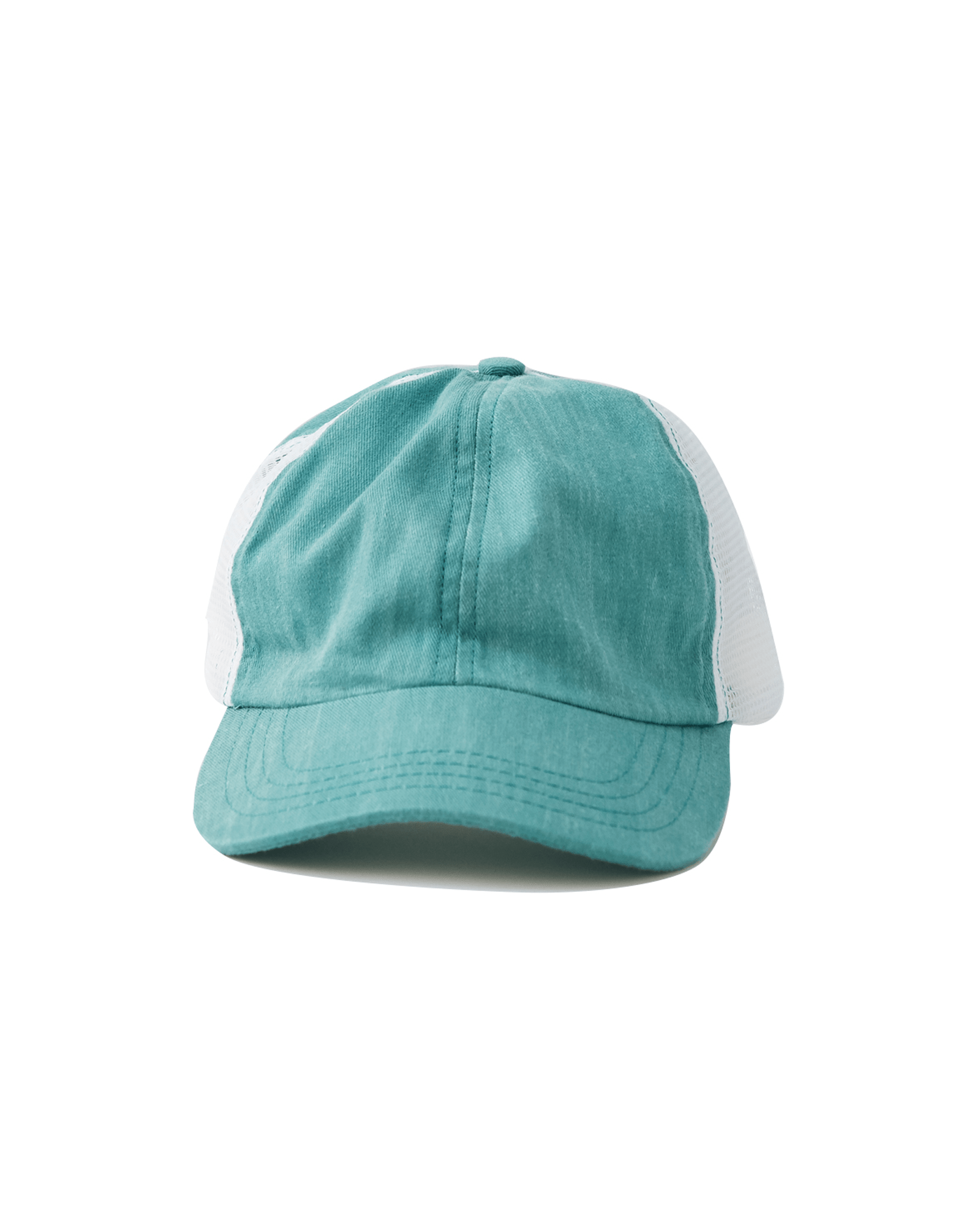 Teal Vented Trucker Cap