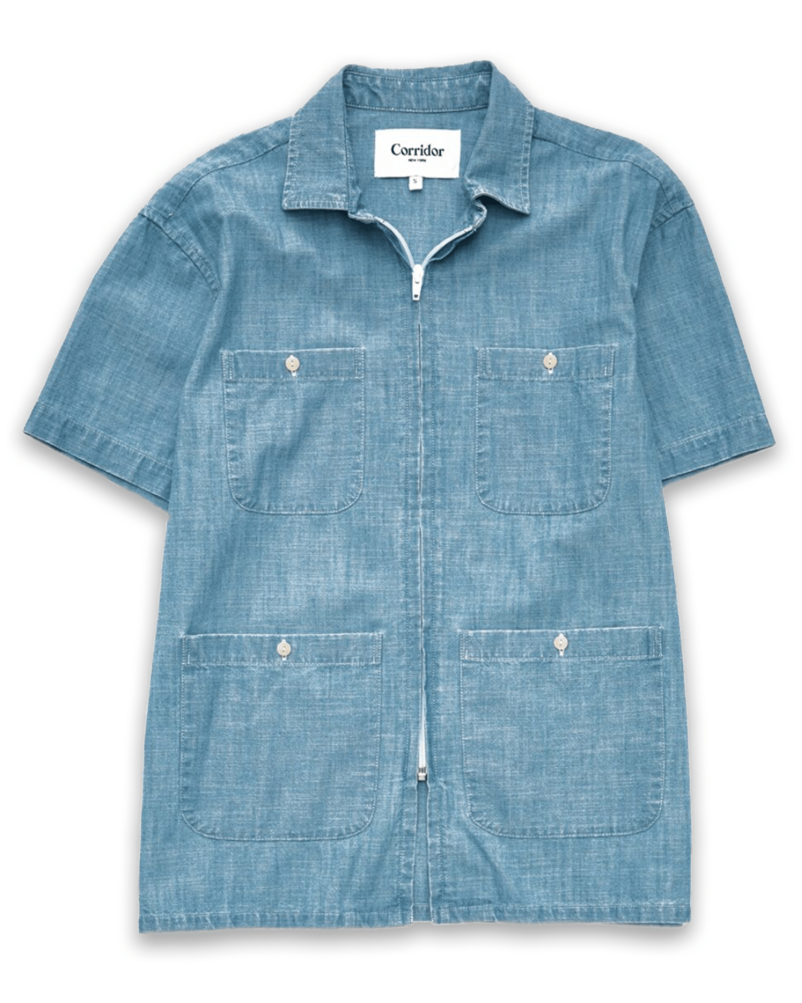 Washed Chambray Pool Jacket