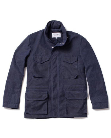 Waxed Cotton M65 - Navy (10oz)