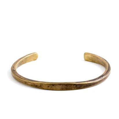 Workshop Cuff - Brass - Work Patina