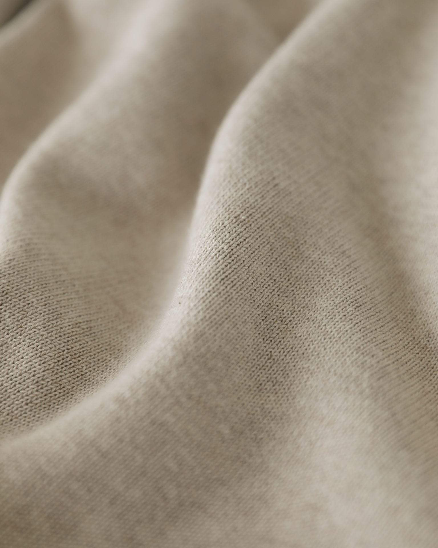 Natural Linen Knit Polo