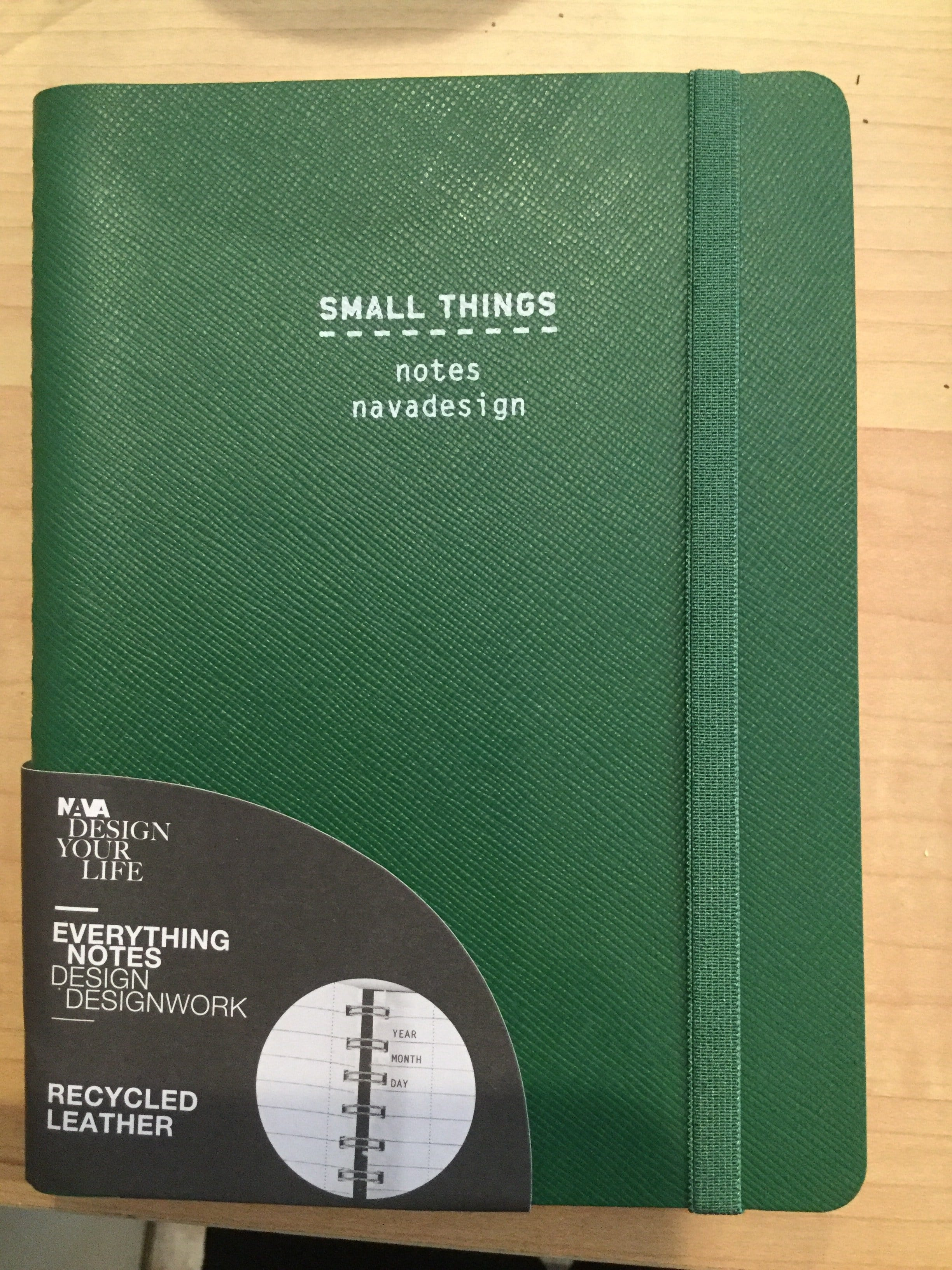 Nava Small things notebook