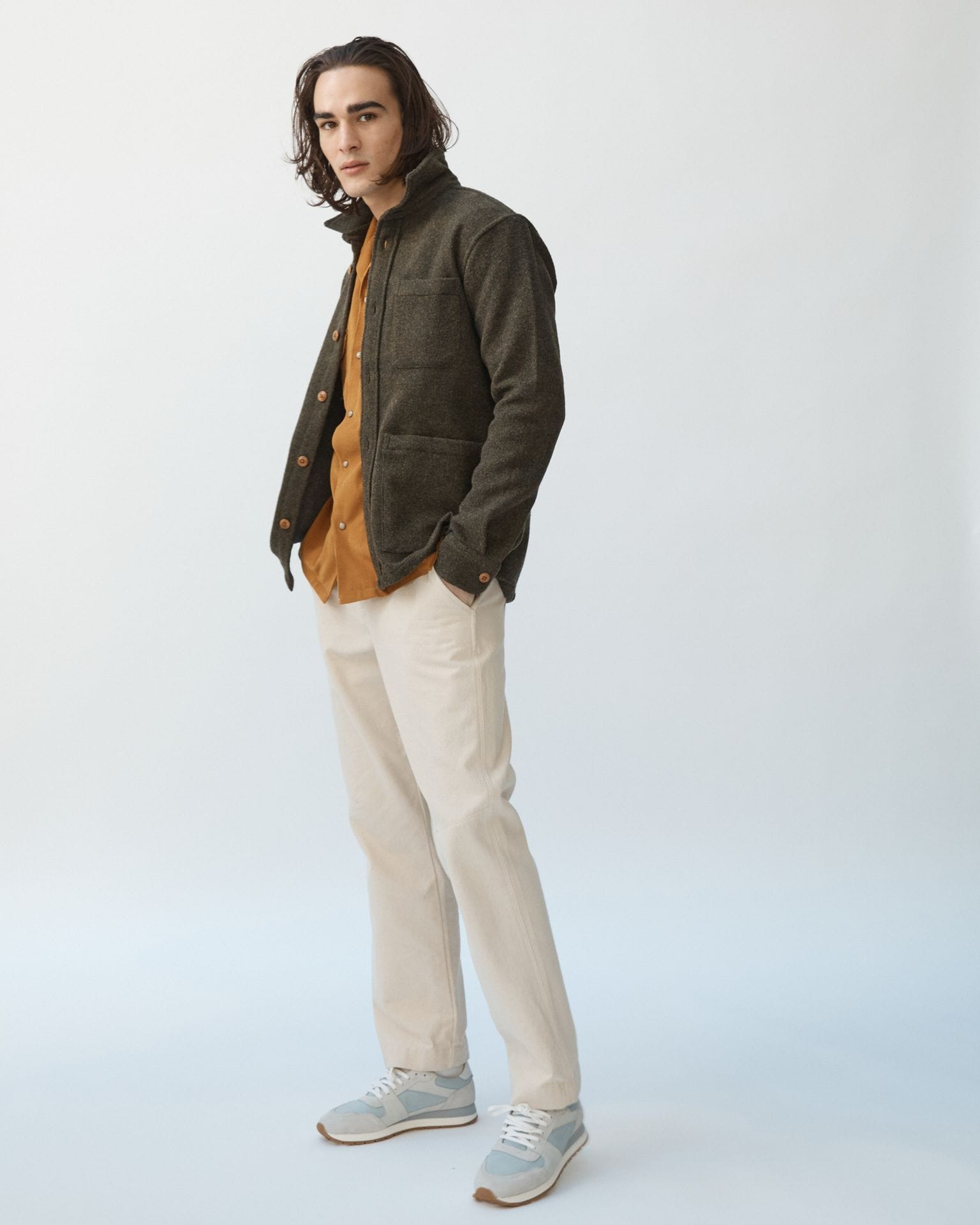 Lambswool (18oz) Jacket - Loden