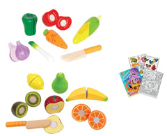 Toy Fruits and Vegetables