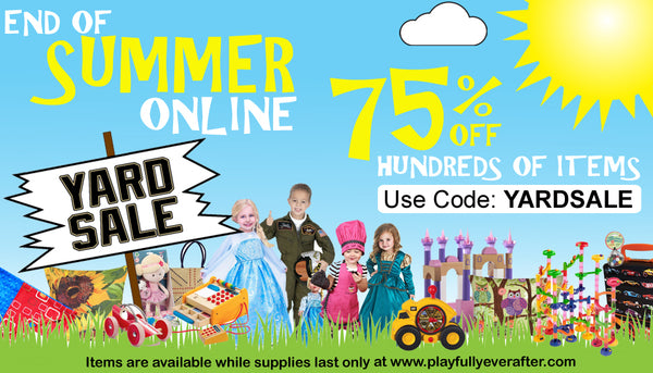 End of Summer Toy Yard Sale