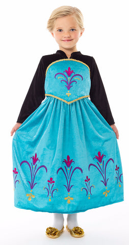 Little Adventures Ice Queen Coronation Dress