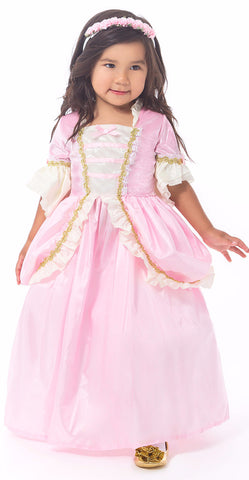 Little Adventures Pink Parisian Princess Dress
