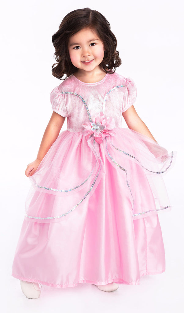 Little Adventures Royal Pink Princess Dress Costume