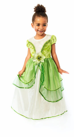 Little Adventures Lily Pad Princess Dress Costume Tiana