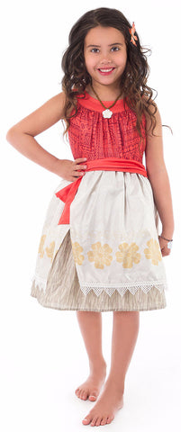 Little Adventures Polynesian Princess Dress