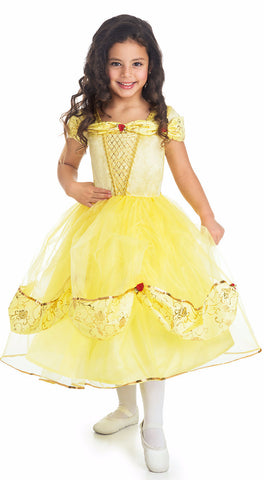 Little Adventures Deluxe Yellow Beauty Princess Dress (2017)