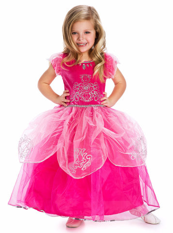 Little Adventures Deluxe Pink Princess Dress