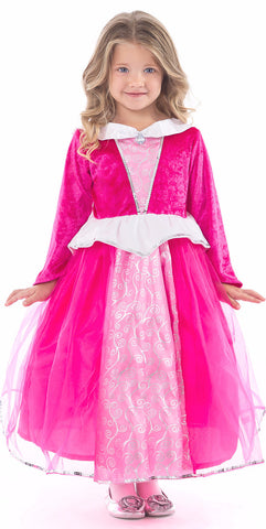 Little Adventures Deluxe Pink Sleeping Beauty Princess Dress
