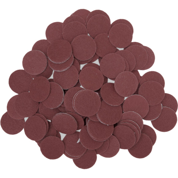 Brown Felt Circle Stickers (1 inch)