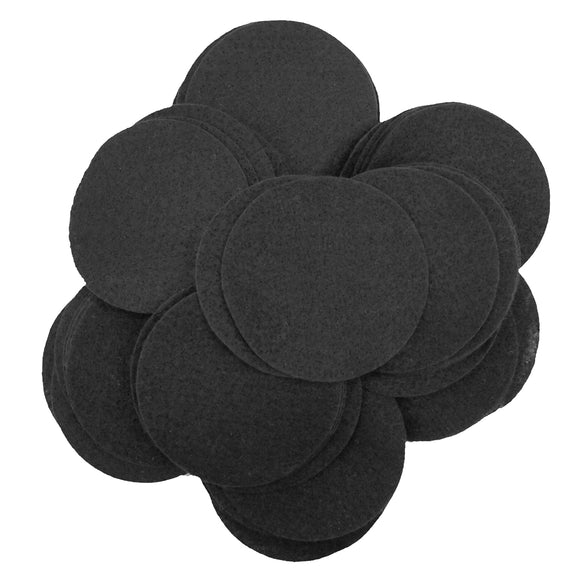 HQA Wire Products - 3,000 pcs of 2 inch acrylic black felt circles - Custom Order
