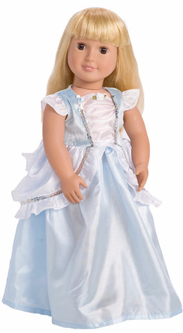 Little Adventures Classic Cinderella Doll Dress