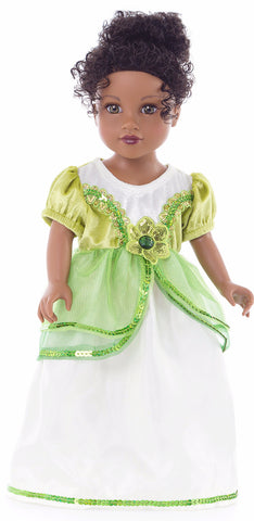 Little Adventures Lily Pad Princess Doll Dress